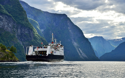 EPIC FJORDS - Ferry on the Nærøyfjord