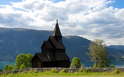 EPIC FJORDS - Urnes Stavechurch by the Lustrafjord