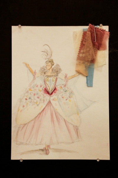 Ariel Wang - Four Elements Baroque Dance Costume