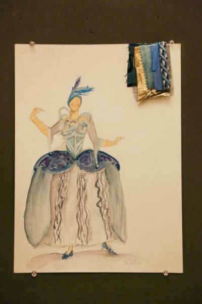 Ariel Wang - Four Elements Baroque Dance Costume-Water
