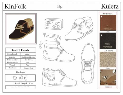 Brendan Kuletz - Specification Sheet