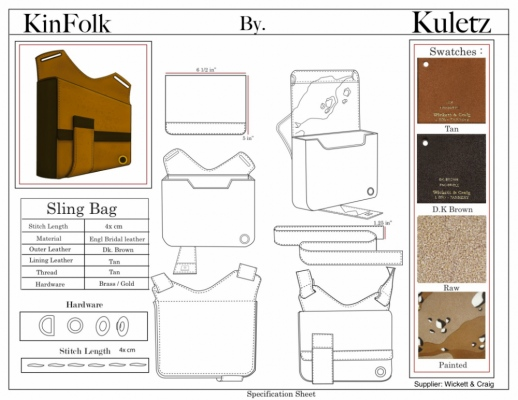 Brendan Kuletz - Specification Sheet
