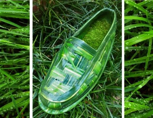 Brendan Kuletz - Going Green Seasonal Slip on Loafer Concept Shoe