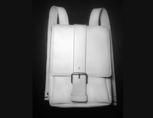 Brendan Kuletz - white oil tanded leather Backpack