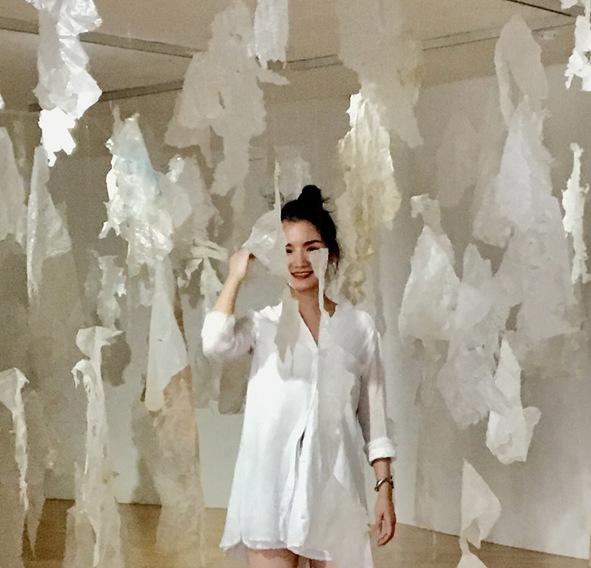 Katarina Bramer - Installation, A beautiful day, Interim Show Master Students, Talbot Rice Gallery, University of Edinburgh, 2017