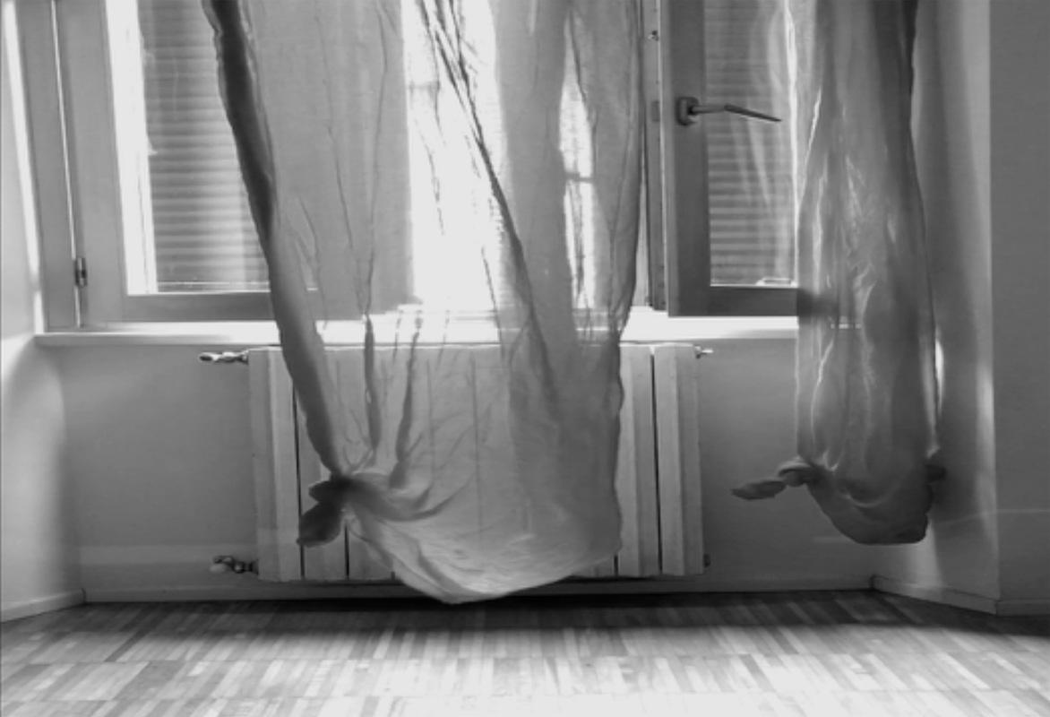 Katarina Bramer - Video still, Daydream II (9:43 min) Open Studio, ViR, ViaFarini, Milan, Italy, 2018