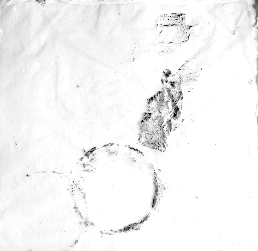 Katarina Bramer - Untitled (paper, plastic, inc), 2014