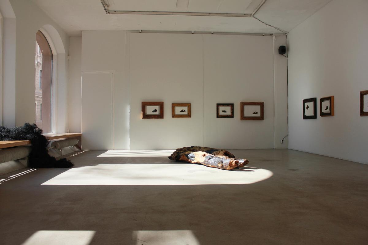 Katarina Elvira Gudrunsdotter - Solo Exhibition, Installation, The Nature of Love, MUU Gallery, Helsinki, Finland, 2019