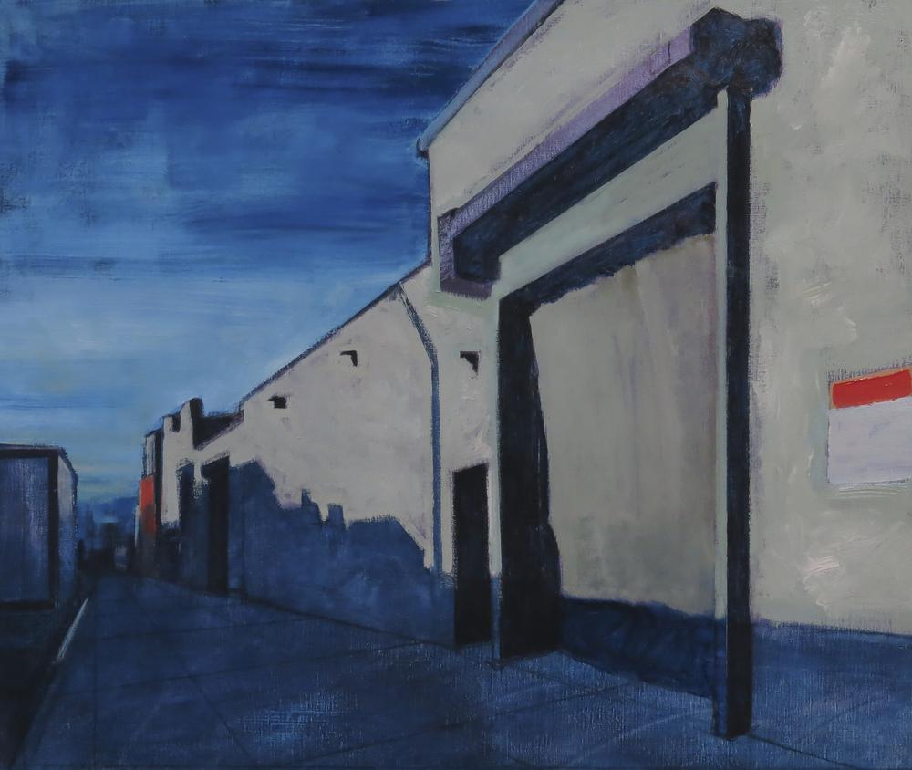 // Bruno Truyts // visual artist // - Warehouse Brooklyn NY - 62 X 75 cm - Acryl & oil on canvas - 2013