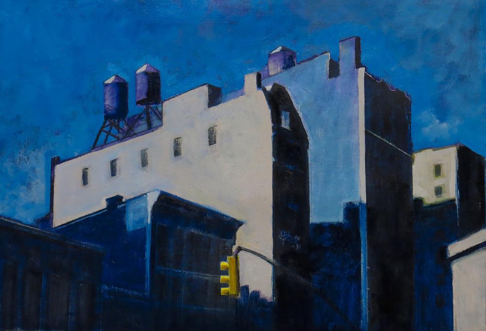 // Bruno Truyts // visual artist // - Houstonstreet #1 NY - 50 X 74 cm - Acryl & oil on canvas - 2013