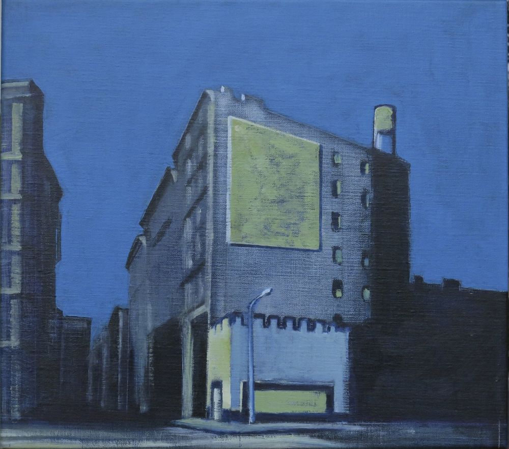 // Bruno Truyts // visual artist // - Houstonstreet #2 NY - 50 X 74 cm - Acryl & oil on canvas - 2013