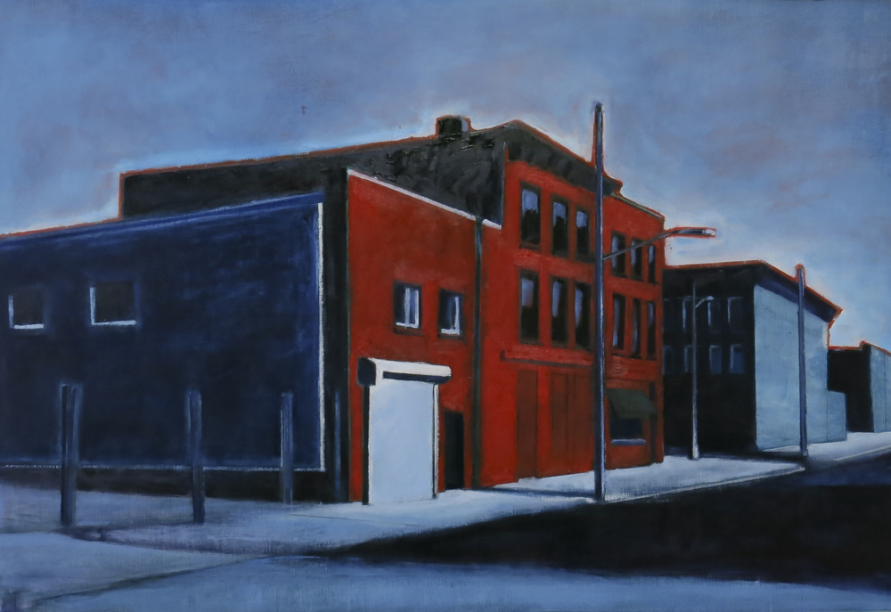 // Bruno Truyts // visual artist // - Red Hook Brooklyn NY - 100 X 70 cm - Acryl & oil on canvas - 2014