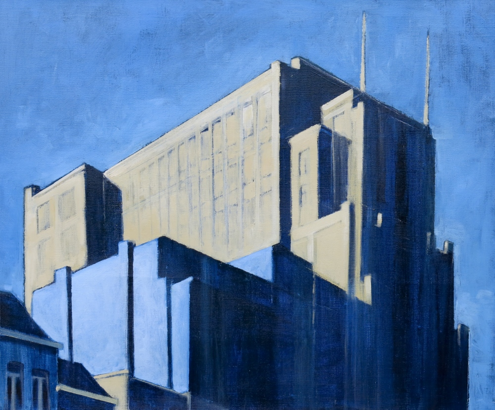 // Bruno Truyts // visual artist // - Century center Antwerp - Oil on linnen - 2016