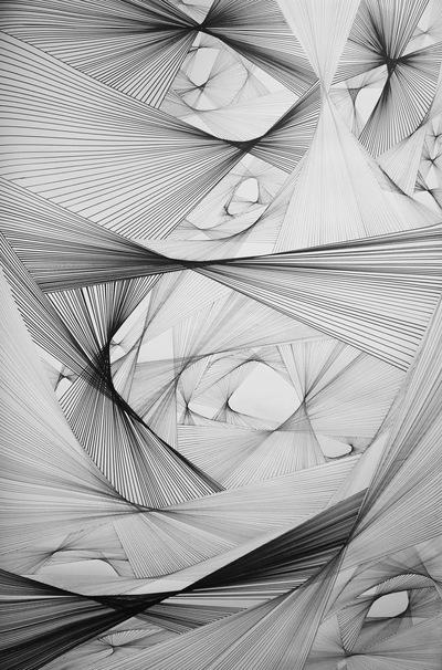 Alicja Jeziorecka - Rysunek na papierze. Format 100x120 cm