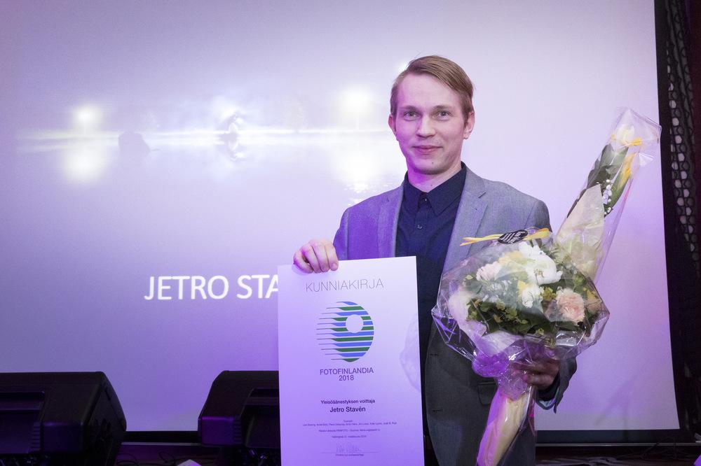 Jetro Stavén photography - Fotofinlandia gaalan palkintojenjakogaala. Kuva: Tiina Puputti