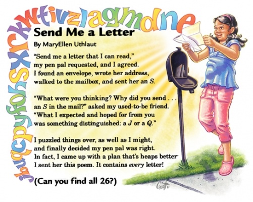 Geoffrey Brittingham all-nite illustration - Send Me A Letter
