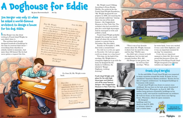 Geoffrey Brittingham all-nite illustration - A Doghouse For Eddie.