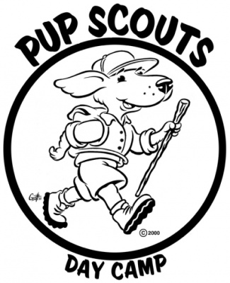 Geoffrey Brittingham all-nite illustration - Pup Scouts.