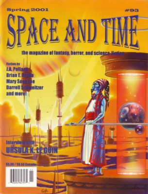 Geoffrey Brittingham all-nite illustration - Space & Time magazine #93