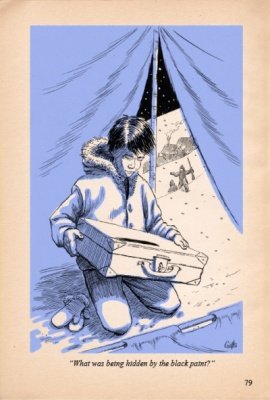 Geoffrey Brittingham all-nite illustration - Klondike Gold Rush Mystery