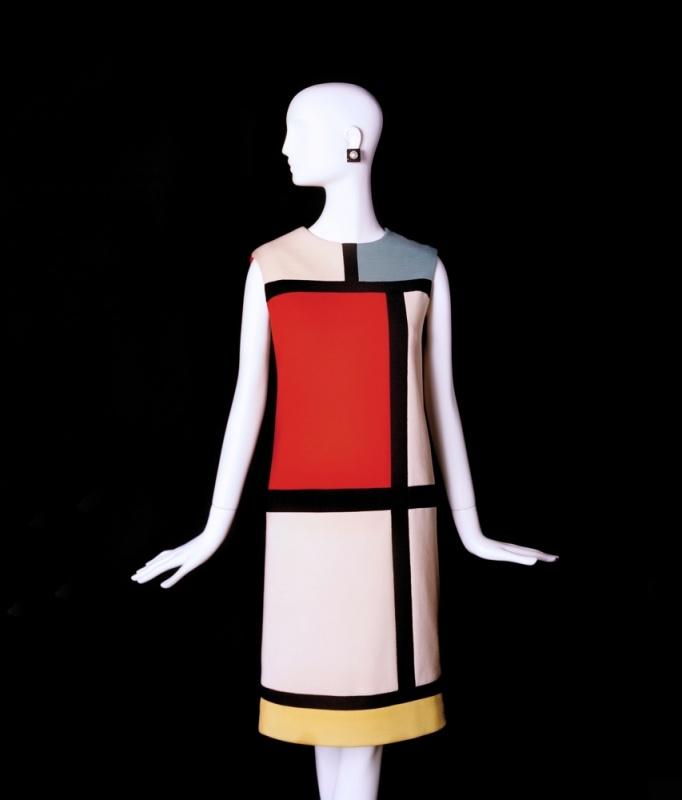 Dilokrit Barose Photos - YSL  Mondrian day dress, autumn, 1965. ( Image courtesy of YSL)