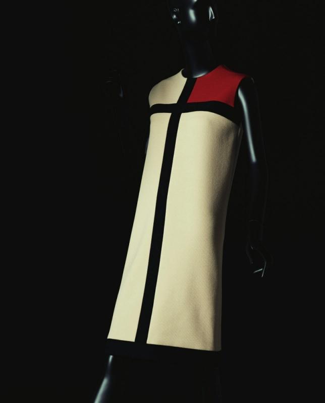 Dilokrit Barose Photos - YSL  Mondrian day dress, autumn, 1965. (Image courtesy of YSL)