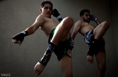 Dilokrit Barose Photos - Ahmad and Rami Ibrahim, Sitan Gym, PA.