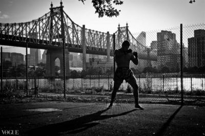 Dilokrit Barose Photos - Omar Estevez, Sitan Gym, NYC.