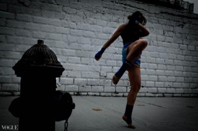 Dilokrit Barose Photos - Laurel Holloway, Sitan Gym, NYC.