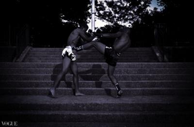 Dilokrit Barose Photos - Michael Corona, Joel Estevez, Sitan Gym, NYC.