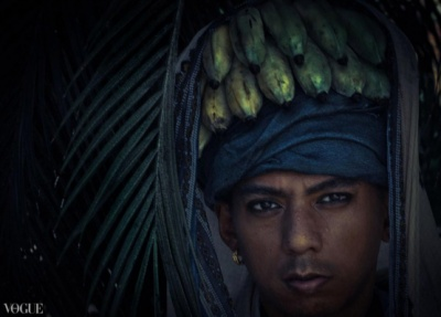 Dilokrit Barose Photos - Rangoon Chic- Stuck In The Monsoon With Bananas On My Head.