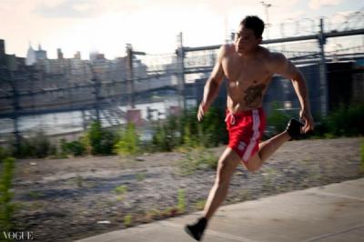 Dilokrit Barose Photos - Khevin sprinting.