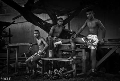 Dilokrit Barose Photos - Young Muay Thai Fighters.