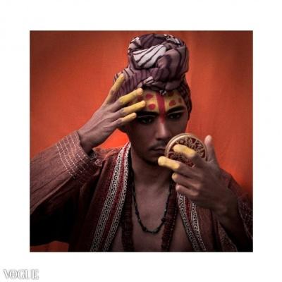 Dilokrit Barose Photos - Sadhu Chic- Paint The Tilak On Your Brows.