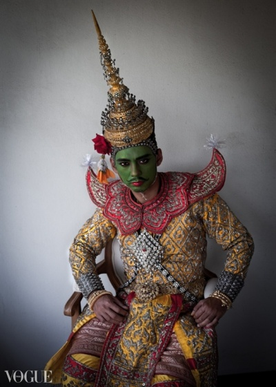 Dilokrit Barose Photos - Experiment Dressing With Classical Thai Dance Costume Face Paint.