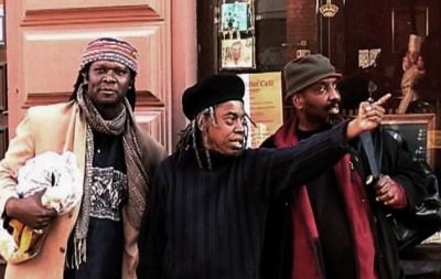 JAN STRÖM - HAMID DRAKE, JEMEEL MOONDOC AND WILLIAM PARKER