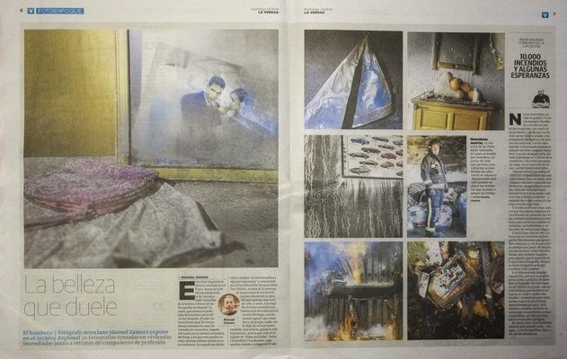 manuel zamora - 10.000 incendios y algunas esperanzas Manuel Madrid Diario La Verdad de Murcia