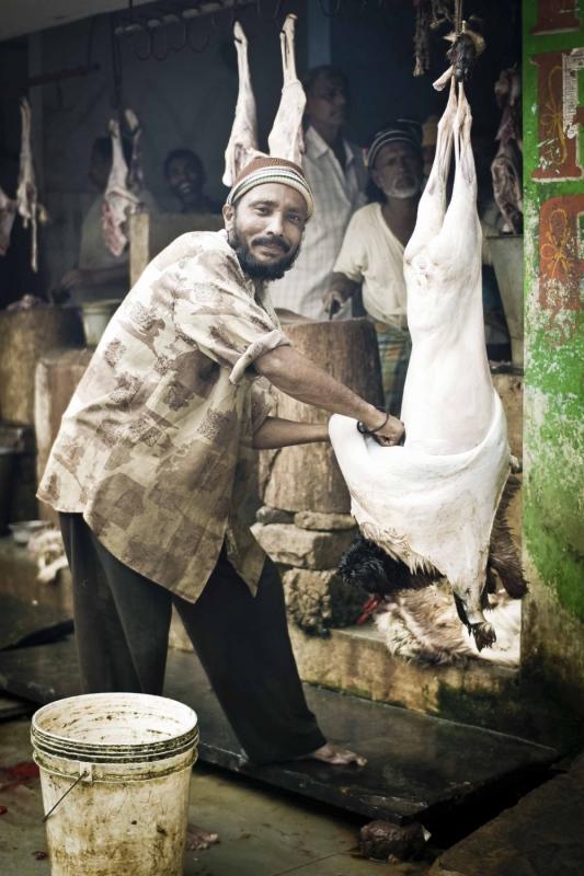manuel zamora - Mercado de Anantapur. India