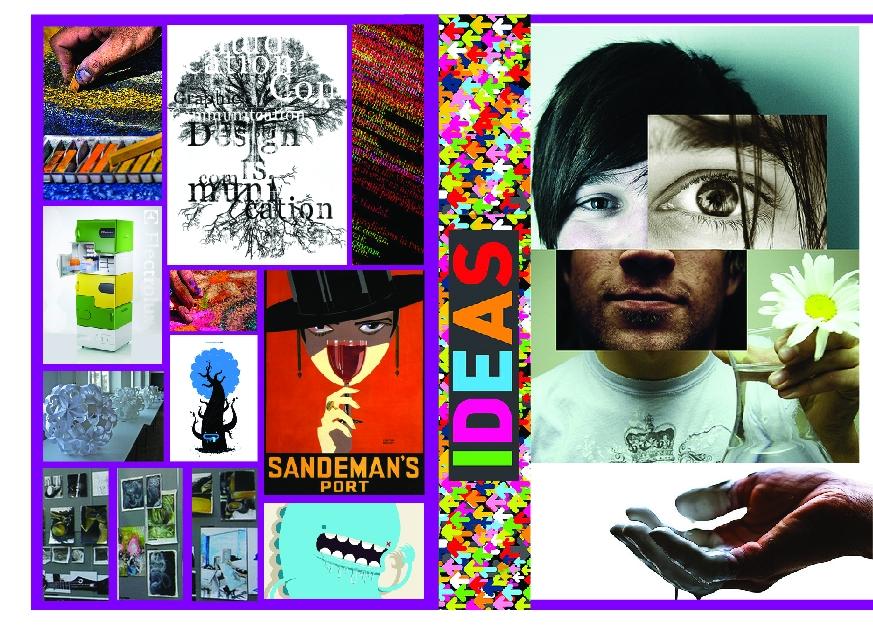 Anna Nicolai - Graphic Designer - Moodboard