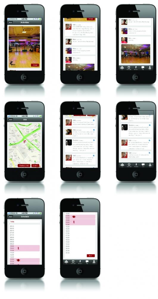 Anna Nicolai - Graphic Designer - Phone Application