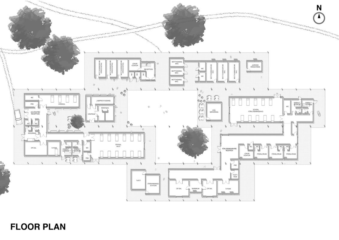 Imberg Arkitekter - Floor plan.