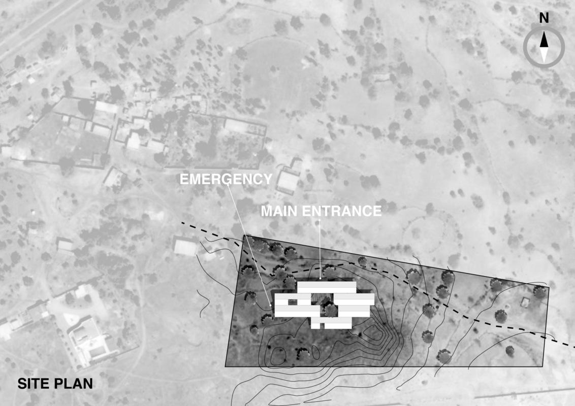 Imberg Arkitekter - Site plan, Nakamtenga.