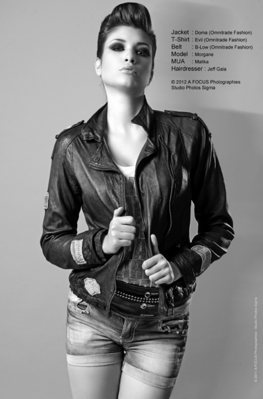 A-FOCUS Photographies - Beauty & Fashion photographer - Morgane with Omnitrade clothes