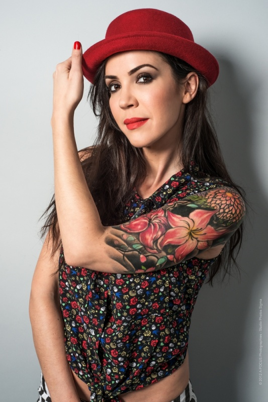 A-FOCUS Photographies - Beauty & Fashion photographer - Vintage Tatoo Vanessa B.