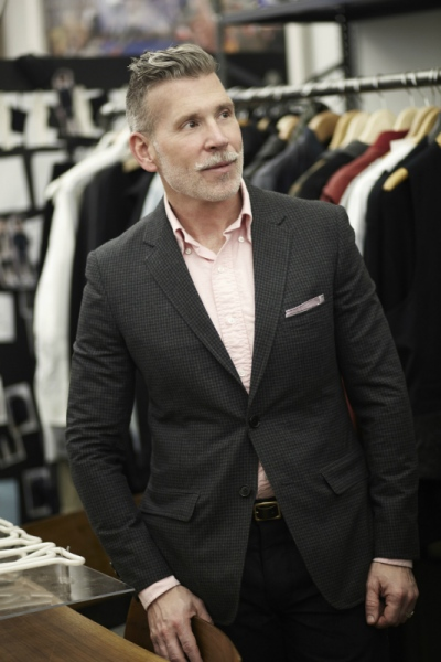 Audrey Stimpson - Nick Wooster, CFDA Incubator Mentor