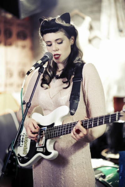 Audrey Stimpson - Kate Nash Music Video Filming