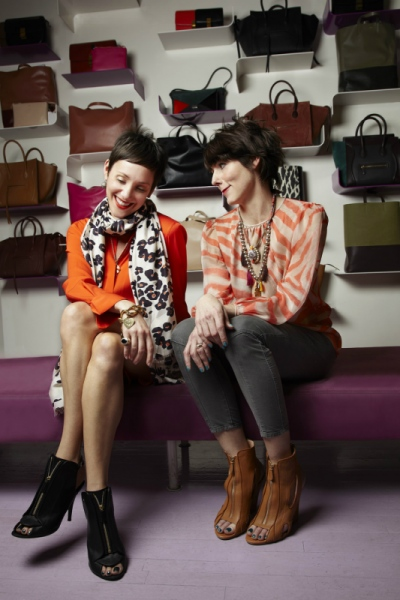 Audrey Stimpson - Sarah Easley and Beth Buccini, Kirna Zabete, Soho Boutique