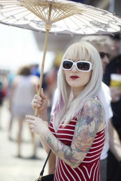 Audrey Stimpson - Mermaid Parade. Coney Island. 2013