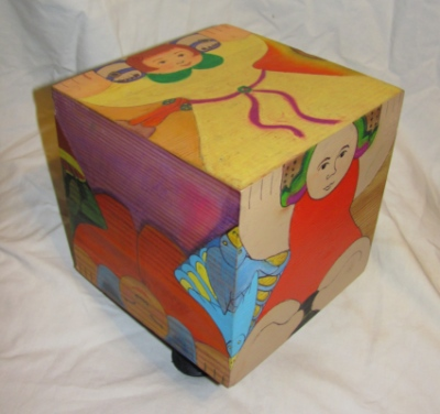 Vesta Faire - The Twirl and twist- a 6 x 6 cube, side B