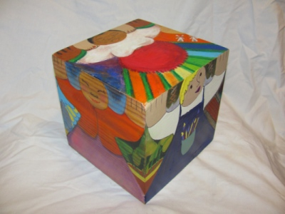 Vesta Faire - The Twirl and twist- a 6 x 6 cube
